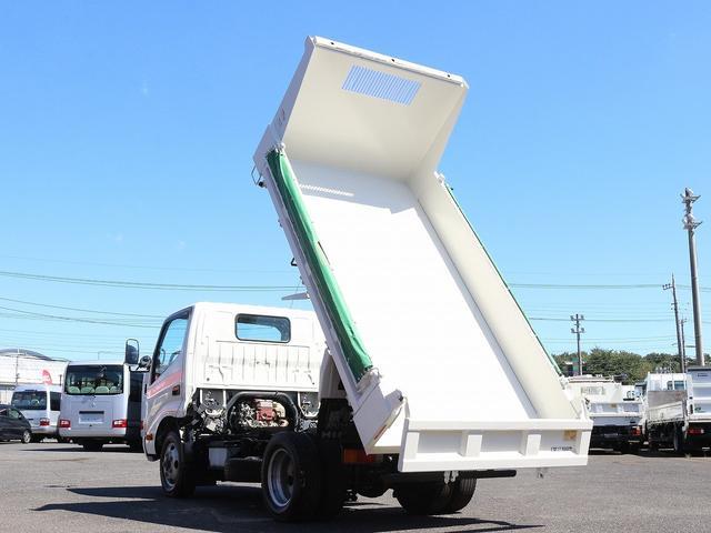 全低床強化ダンプ 4WD 2トン フルジャストロー 強化ダンプ コボレーン付 5MT リーフサス STタイヤ スペアキー ETC 新明和DR2-0110SY 最大積載量2000キロ 車両総重量5235キロ(15枚目)