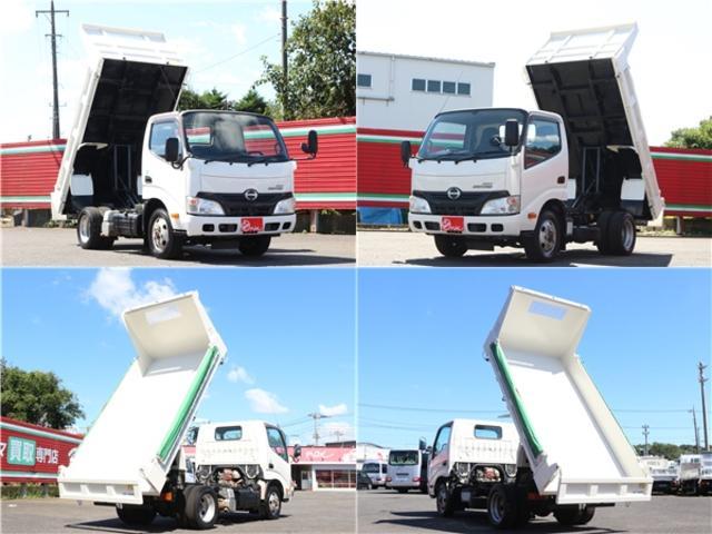 全低床強化ダンプ 4WD 2トン フルジャストロー 強化ダンプ コボレーン付 5MT リーフサス STタイヤ スペアキー ETC 新明和DR2-0110SY 最大積載量2000キロ 車両総重量5235キロ(61枚目)