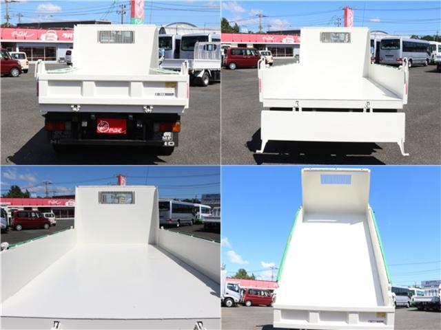全低床強化ダンプ 4WD 2トン フルジャストロー 強化ダンプ コボレーン付 5MT リーフサス STタイヤ スペアキー ETC 新明和DR2-0110SY 最大積載量2000キロ 車両総重量5235キロ(62枚目)