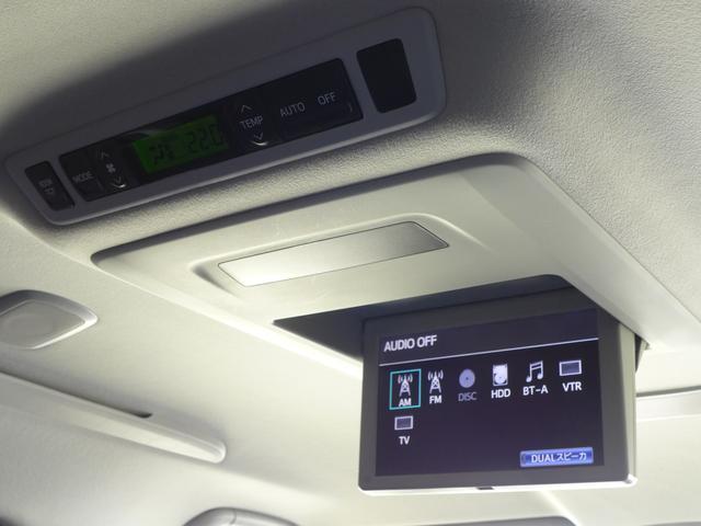 トヨタ ヴェルファイア 2.4Z T-Value MOPナビ 天吊モニター ETC