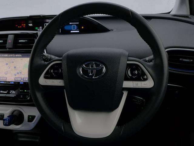 トヨタ プリウス Sツーリング T-ValueHVプレミアム ナビ 元社用車