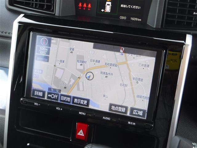 トヨタ タンク カスタムG-T 純正ナビ 地デジ バックカメラ 衝突軽減