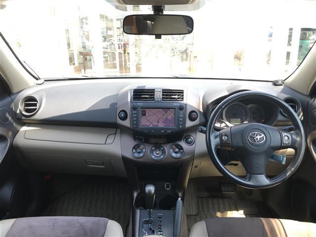 トヨタ ヴァンガード 350S Gパッケージ 純正ナビ サンルーフ