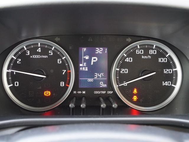 【 メーターパネル 】マルチインフォメーションが中央にあり車の情報などを運転者におしらせします