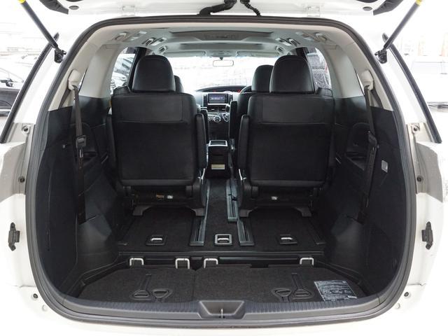 【 ラゲッジスペース 】サードシートが床下格納式となっておりますので広々とした荷室が確保できます!