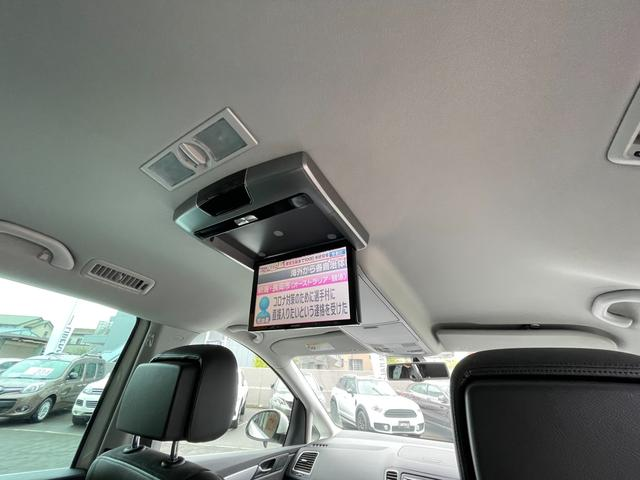 TSI ハイラインブルーモーションテクノロジー ワンオーナー フリップダウンモニター 純正ナビ フルセグTV バックカメラ シートヒーター ハーフレザーシート ETC(3枚目)