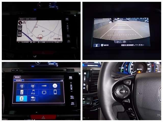 【ナビゲーション】純正メモリーナビを装備しております〜!インパネ内にスッキリとビルトイン装着されておりますので、運転時に視界の妨げになる事もありませんよ♪