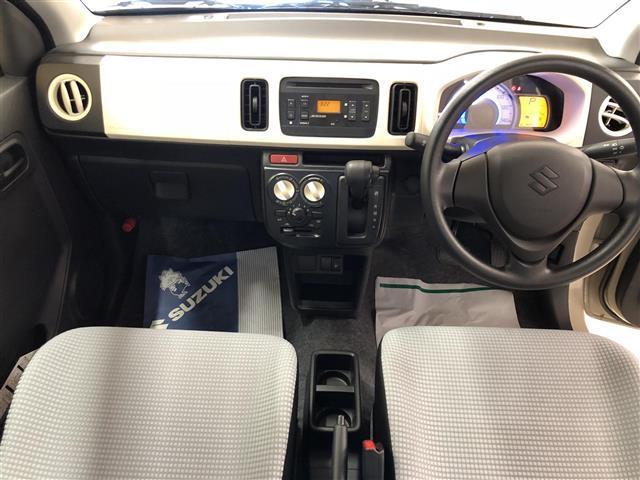 スズキ アルト L レーダーブレーキ・アイドリングストップ・CD・キーレス
