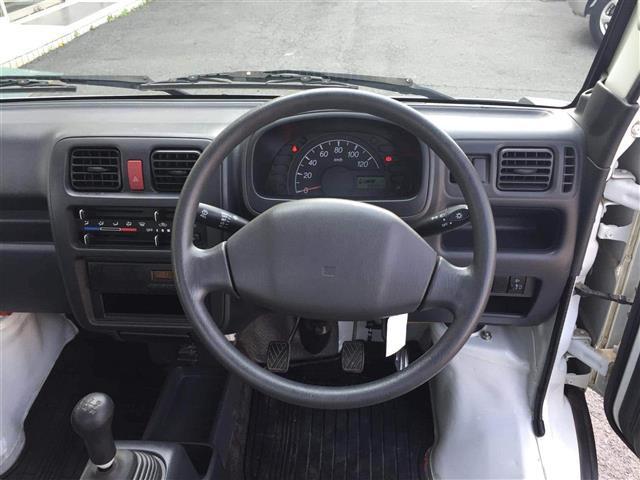 KC エアコン パワステ・4WD・5MT車(5枚目)