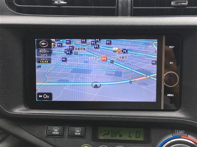 G 社外SDナビ フルセグTV バックカメラ ETC LEDヘッドライト オートライト 前席シートヒーター 電動格納ミラー ドアバイザー プッシュスタート スマートキー2個(10枚目)
