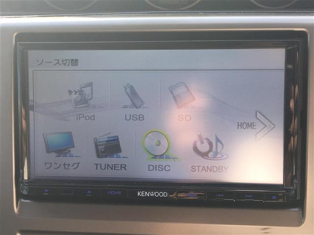 Xt/社外ケンウッド製メモリーナビ/ETC/4WD/革シート(3枚目)