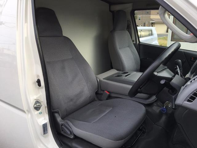 トヨタ ハイエースバン 保冷車 軽油 ETC 純正ゴムマット ABS