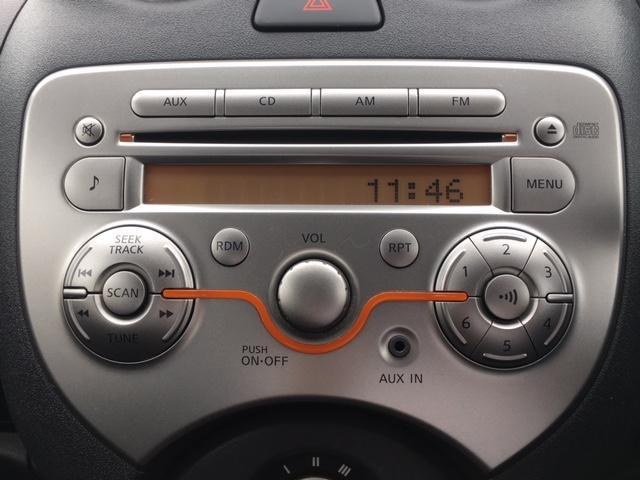 日産 マーチ 12S Vパッケージ/純正オーディオ・クリアランスソナー