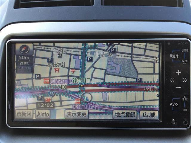 X イロドリ 純正HDDナビ ワンセグ Bカメラ ETC(3枚目)