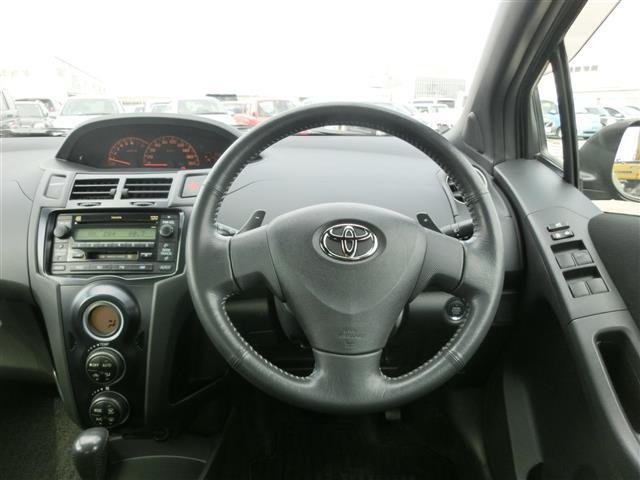 トヨタ ヴィッツ RS ワンオーナー スマートキー CDオーディオ