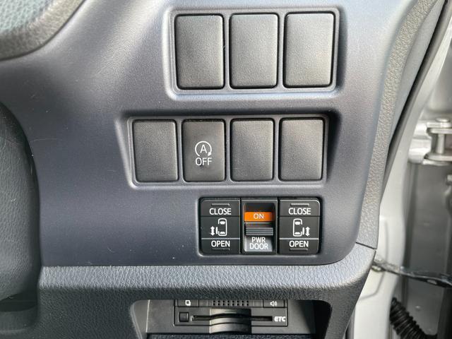 X 社外メモリナビ CD DVD BT フルセグ バックカメラ ETC 両側電動ドア 社外アルミホイール積込 アイドリングストップ ステアリングスイッチ ロールサンシェード オートリトラミラー(5枚目)