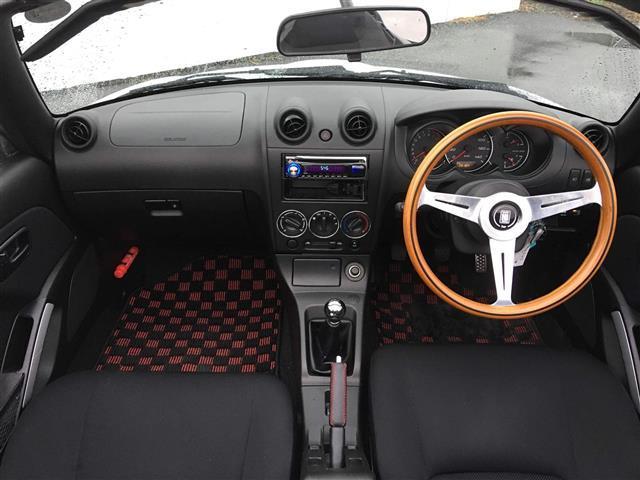 アクティブトップ ウッドハンドル ETC オープンカー(3枚目)