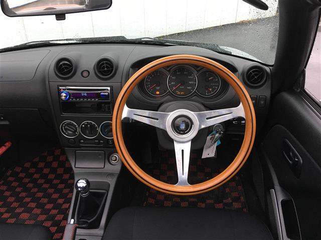 アクティブトップ ウッドハンドル ETC オープンカー(6枚目)