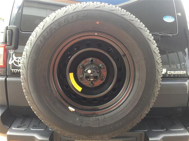 トヨタ FJクルーザー ブラックカラーパケ 夏タイヤ積込 フルセグ バックカメラ