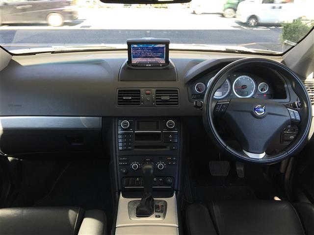 ボルボ ボルボ XC90 3.2 AWD 後部席モニタ サイド・バックカメラ 社外ナビ