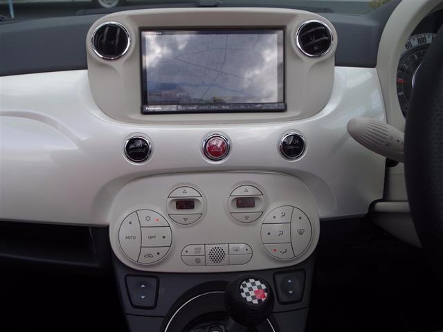 フィアット フィアット 500C ツインエアラウンジ HDDナビ フルセグ Bカメラ HID