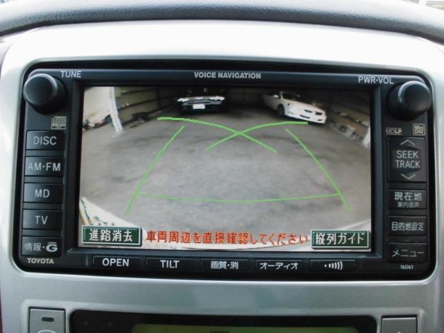 トヨタ アルファードV MZ DVDナビ 両パワスラ Bカメラ  パワーバックドア