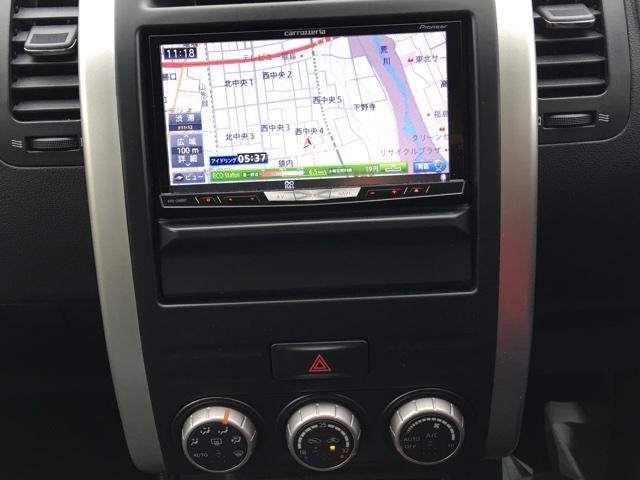 日産 エクストレイル 20Xtt 4WD ワンオーナー HDDナビ