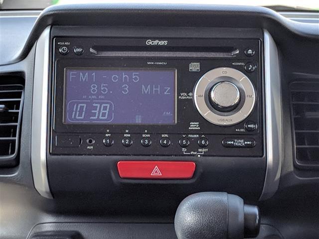 ホンダ N BOX G SSパッケージ 純正オーディオ 社外14インチアルミ