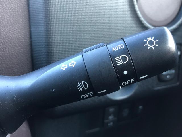【オートライトシステム】車外の環境に合わせてライトを点灯します☆トンネル入り口では瞬時に点灯するなど、点灯、消灯を車外の明るさに応じて行います
