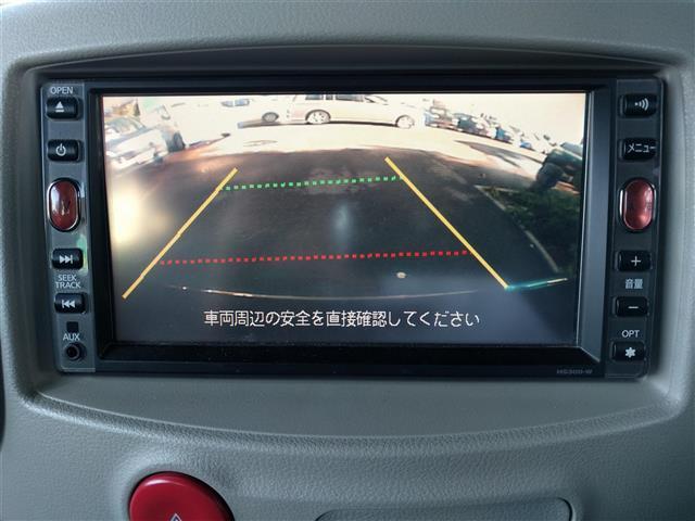 日産 キューブ 15X Mセレクション HDDナビ バックカメラ DVD再生