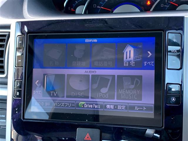 カスタムRS トップエディションSAII 4WD/ターボ/純正エンジンスターター/ハーフレザーシート/スマートアシスト2/純正SDナビ/Bluetooth対応/フルセグTV/バックカメラ/コーナーセンサー/両側パワースライドドア/ETC(10枚目)