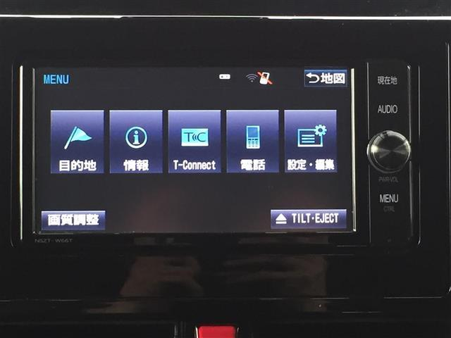 カスタムG S 4WD 純正SDメモリーナビ フルセグTV 両側パワスラ バックカメラ クルコン ビルトインETC アイドリングストップ 横滑り防止 衝突被害軽減ブレーキ LEDヘッドライト(7枚目)