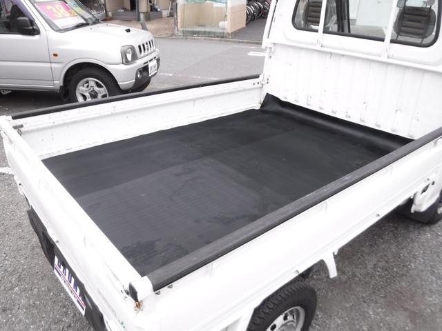スバル サンバートラック JA切替4WD5速MTワンオーナーエアコン三方開き荷台マット