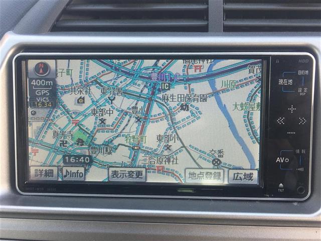 X Lパッケージ ワンオーナー 純正HDDナビ スマートキー(5枚目)