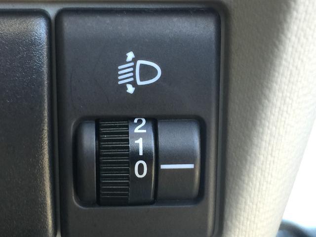 ライトの高さ調整が可能になる【ヘッドライトレベライザー】上り坂や下り坂でライトの高さ調整が可能ですので、どんな坂道でも視界良好!