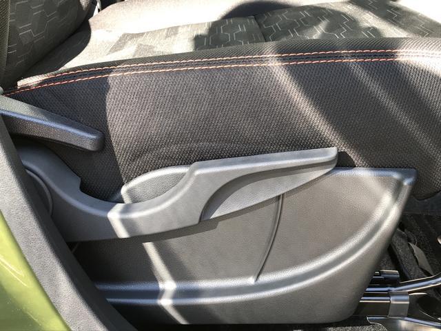 シートの高さ・背もたれを調節できます。自分の運転姿勢に合わせて快適なドライブをお楽しみいただけます!