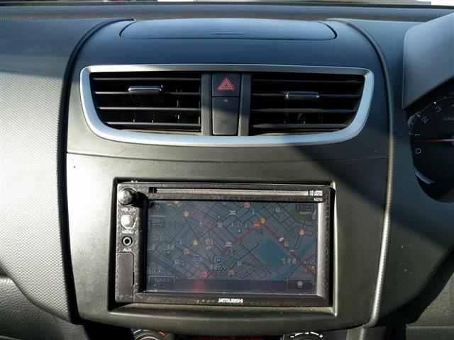 スズキ スイフト XL ワンオーナー メモリナビ Bカメラ ワンセグ CD