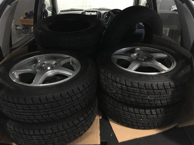 スズキ Kei Bターボ 4WD ミラー・シートヒーター 純CD 夏冬タイヤ