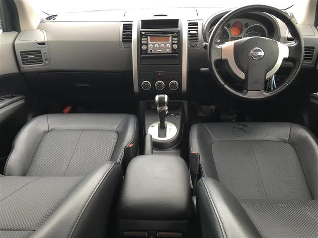 日産 エクストレイル 20X 4WD ワンオーナー カブロンシート