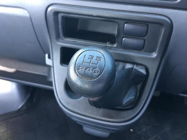 デッキバンG 4WD 5速MT ルーフキャリア 純オーディオ(8枚目)