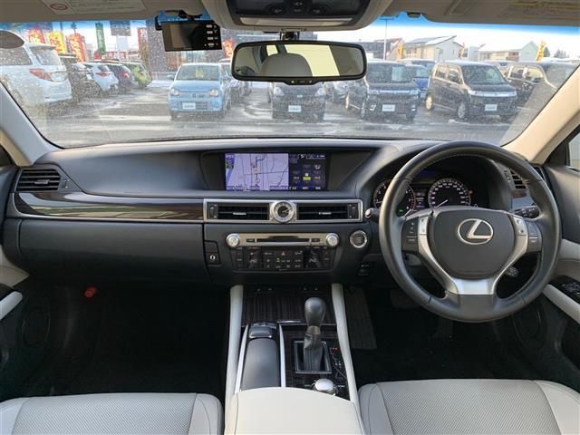 GS350 Iパッケージ 本革シート ドライブレコーダー クリアランスソナー シート シートヒーター&エアシート HDDナビ Bluetooth フルセグテレビ バックカメラ HID 電動チルト&テレスコピックステアリング(3枚目)