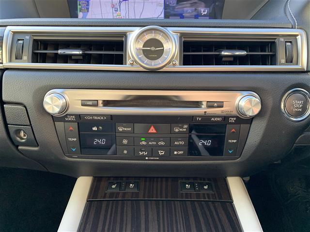 GS350 Iパッケージ 本革シート ドライブレコーダー クリアランスソナー シート シートヒーター&エアシート HDDナビ Bluetooth フルセグテレビ バックカメラ HID 電動チルト&テレスコピックステアリング(7枚目)
