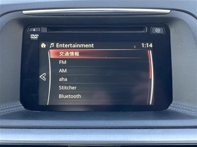 XD 4WD マツダコネクトナビ CD DVD Bluetooth フルセグTV SCBS 純正AW付き夏タイヤ積込 クルーズコントロール LEDオートライト 純正ルーフレール USB2.0 TRC ETC(8枚目)