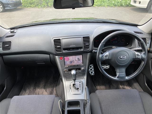 2.5i Sスタイル 4WD 社外メモリーナビ SD CD DVD Bluetooth USB AUX フルセグ 純正AW付きサマータイヤ積込 運転席パワーシート HIDヘッドライト ETC(3枚目)