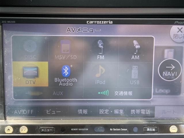 2.5i Sスタイル 4WD 社外メモリーナビ SD CD DVD Bluetooth USB AUX フルセグ 純正AW付きサマータイヤ積込 運転席パワーシート HIDヘッドライト ETC(5枚目)