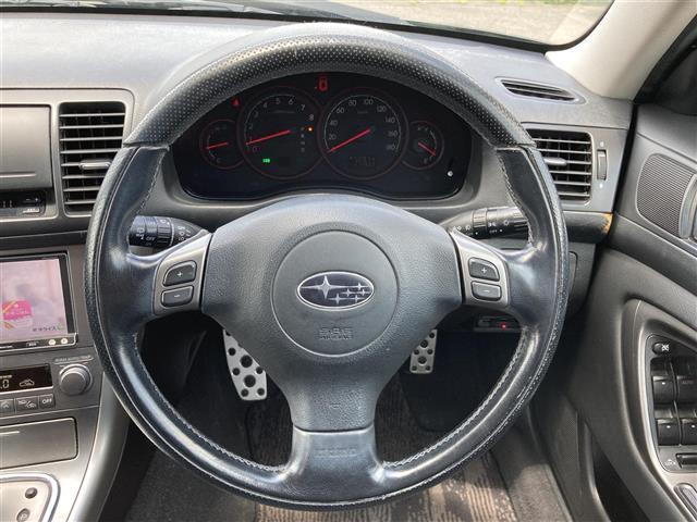 2.5i Sスタイル 4WD 社外メモリーナビ SD CD DVD Bluetooth USB AUX フルセグ 純正AW付きサマータイヤ積込 運転席パワーシート HIDヘッドライト ETC(9枚目)