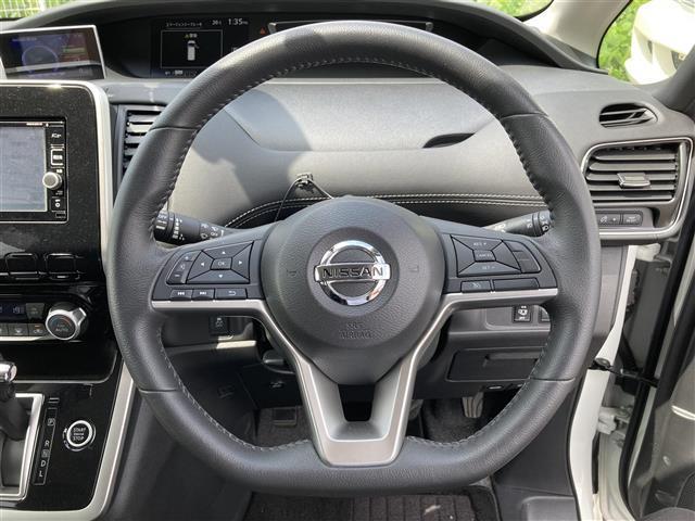 ハイウェイスター エマージェンシーブレーキ 4WD メモリーナビSD CD DVD Bluetooth フルセグ 両側電動スライドドア バックカメラ クルーズコントロール LEDヘッドライト 社外レーダー 横滑防止(7枚目)