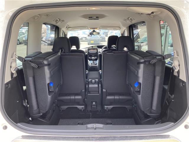 ハイウェイスター エマージェンシーブレーキ 4WD メモリーナビSD CD DVD Bluetooth フルセグ 両側電動スライドドア バックカメラ クルーズコントロール LEDヘッドライト 社外レーダー 横滑防止(27枚目)