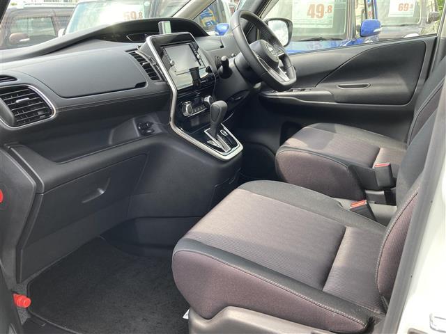 ハイウェイスター エマージェンシーブレーキ 4WD メモリーナビSD CD DVD Bluetooth フルセグ 両側電動スライドドア バックカメラ クルーズコントロール LEDヘッドライト 社外レーダー 横滑防止(37枚目)