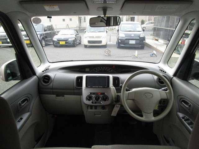 開放感のある広々とした運転席です!